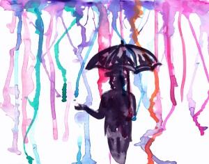 watercolor-man-standing-in-rain